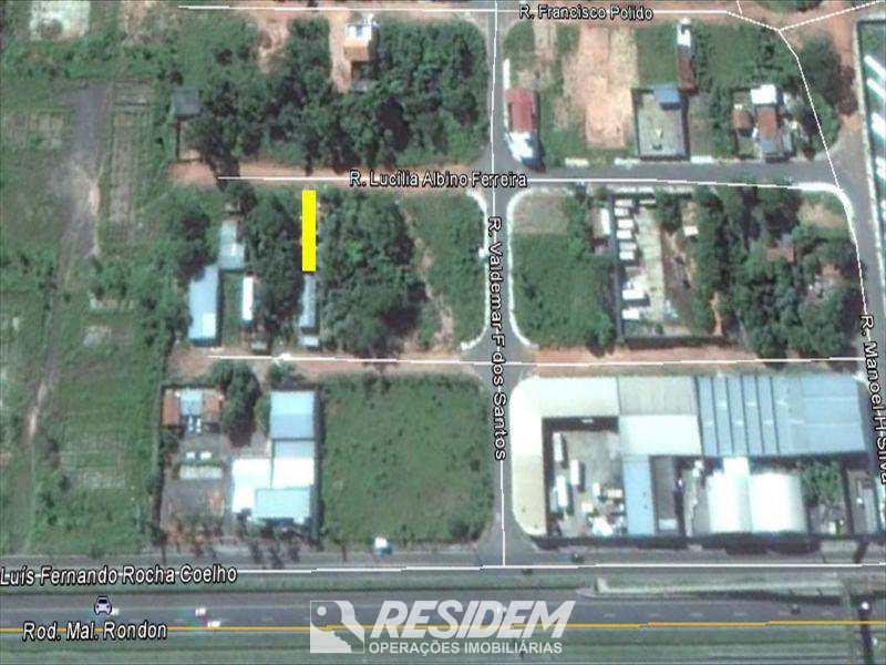 Terreno em Bauru, bairro Jardim Nicéia