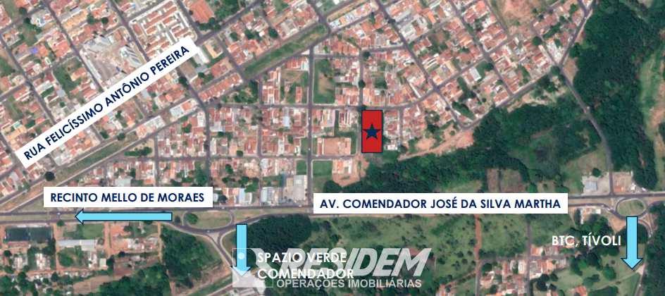 Terreno em Bauru, no bairro Vila Santista