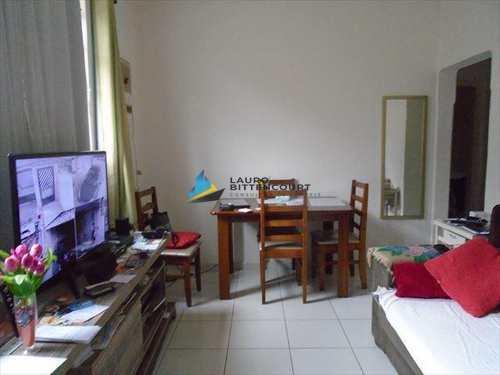 Apartamento, código 7644 em Santos, bairro Ponta da Praia