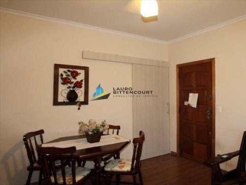Apartamento, código 7619 em Santos, bairro Aparecida