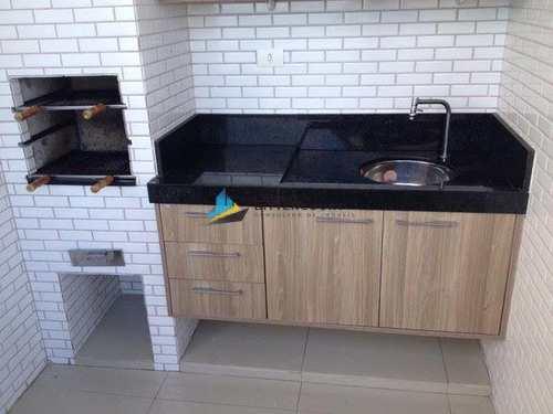 Apartamento, código 7549 em Santos, bairro Pompéia