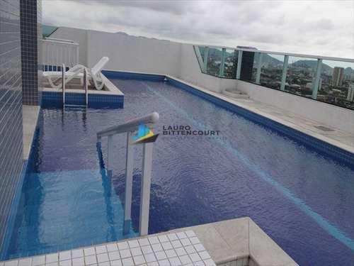 Apartamento, código 7017 em Santos, bairro Encruzilhada