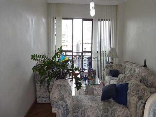 Apartamento, código 6676 em Santos, bairro Gonzaga
