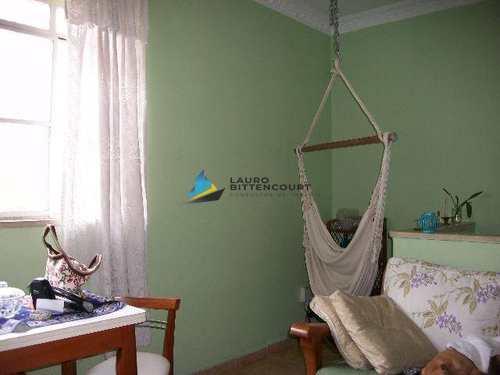 Apartamento, código 6467 em Santos, bairro Marapé