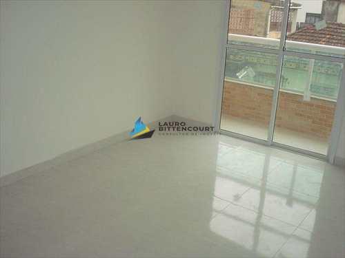 Apartamento, código 4557 em São Vicente, bairro Catiapoa