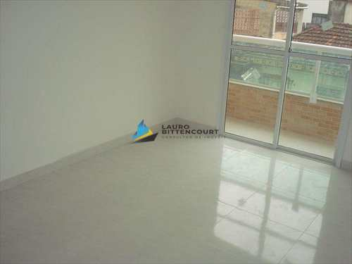 Apartamento, código 4554 em São Vicente, bairro Catiapoa