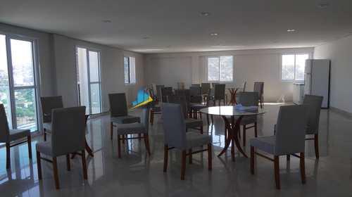 Apartamento, código 7906 em Santos, bairro Encruzilhada