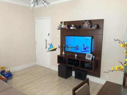 Apartamento, código 7914 em Santos, bairro Boqueirão