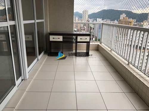 Apartamento, código 7972 em Santos, bairro Encruzilhada