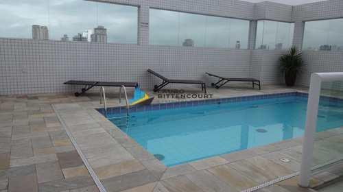 Apartamento, código 8008 em Santos, bairro Embaré