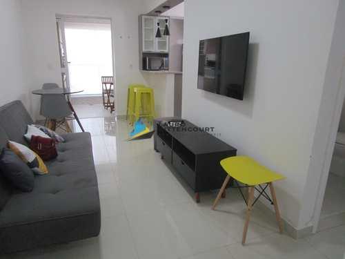Apartamento, código 8028 em Santos, bairro Boqueirão