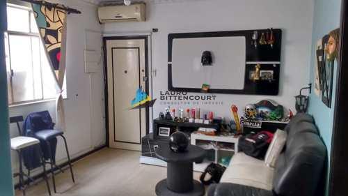 Apartamento, código 8468 em Santos, bairro Boqueirão