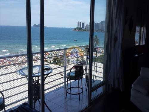 Apartamento, código 2802 em Guarujá, bairro Pitangueiras