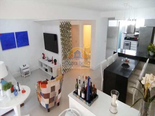 Apartamento, código 2792 em Guarujá, bairro Pitangueiras