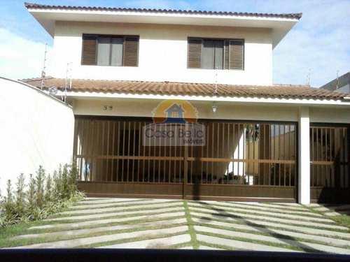 Sobrado, código 2616 em Guarujá, bairro Balneário Praia do Pernambuco