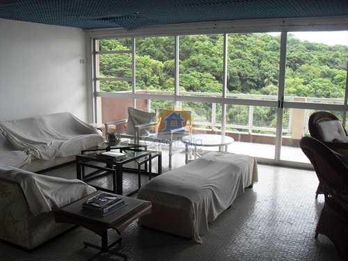 Apartamento, código 2293 em Guarujá, bairro Pitangueiras