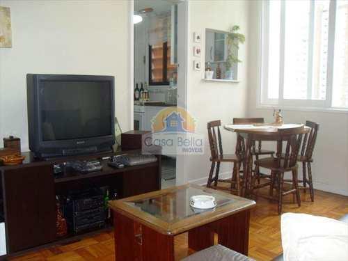 Apartamento, código 624 em Guarujá, bairro Pitangueiras
