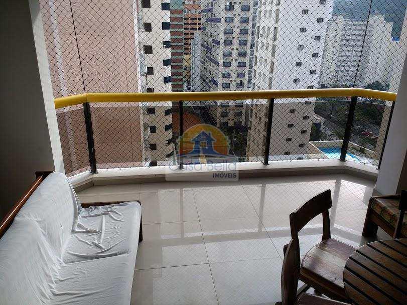 Flat em Guarujá, bairro Centro