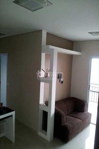 Apartamento, código 1840 em Santos, bairro Areia Branca