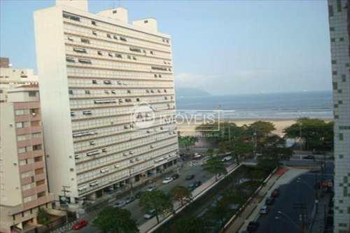 Apartamento, código 1401 em Santos, bairro Marapé