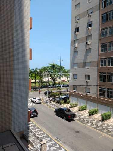 Apartamento, código 3145 em Santos, bairro Gonzaga