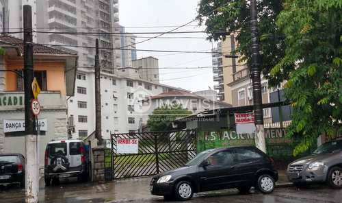 Terreno, código 3256 em Santos, bairro Gonzaga
