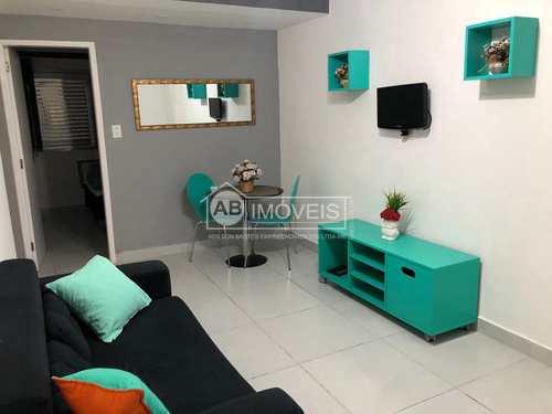 Apartamento, código 3478 em Santos, bairro Gonzaga