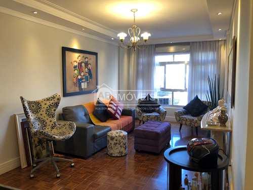 Apartamento, código 3628 em Santos, bairro Aparecida