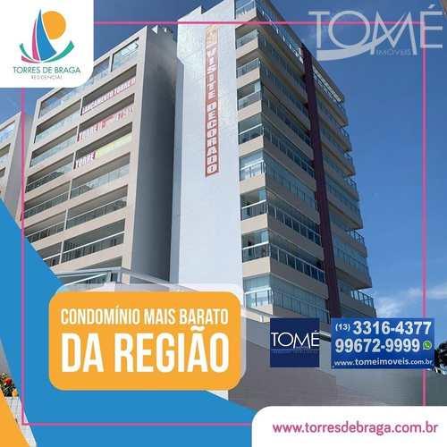 Apartamento, código 750 em Bertioga, bairro Centro