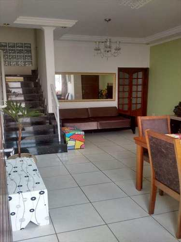 Sobrado, código 10859 em São Vicente, bairro Parque Bitaru