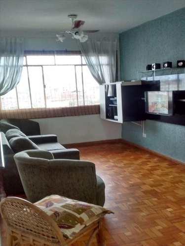Apartamento, código 10807 em São Vicente, bairro Catiapoa