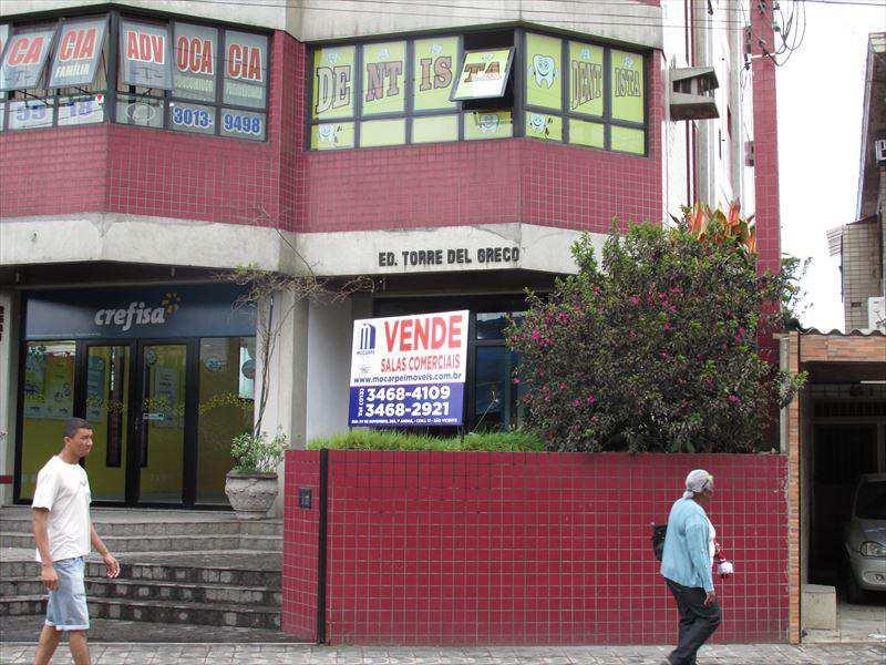 Sala Comercial em São Vicente, bairro Esplanada dos Barreiros
