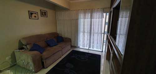 Apartamento, código 10756 em São Vicente, bairro Gonzaguinha