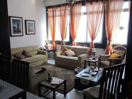 Apartamento, código 10753 em São Vicente, bairro Itararé