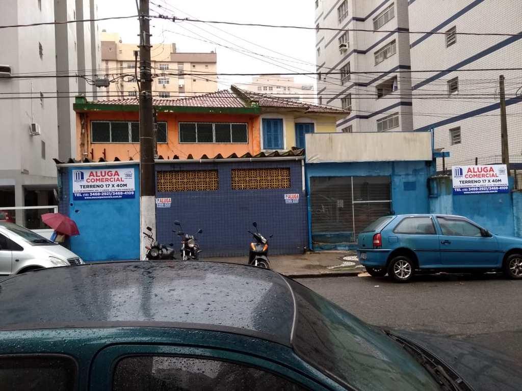 Terreno Comercial em Santos, no bairro Gonzaga