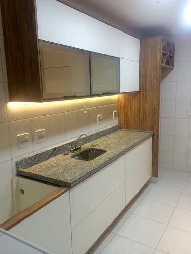 Apartamento, código 10705 em São Vicente, bairro Itararé