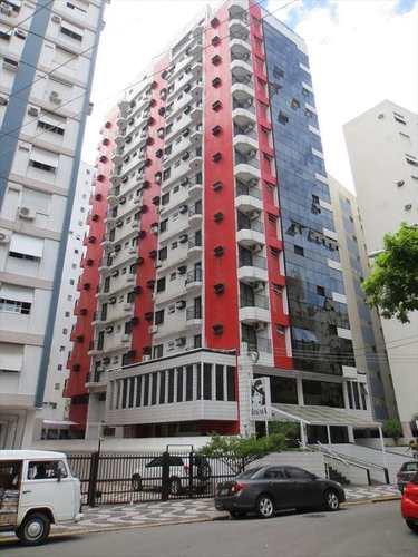 Apartamento, código 10701 em Santos, bairro Gonzaga