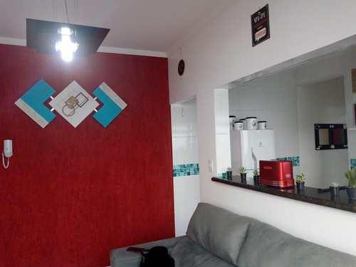 Apartamento, código 10697 em São Vicente, bairro Vila Valença