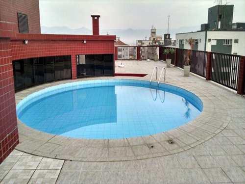 Apartamento, código 10695 em São Vicente, bairro Centro