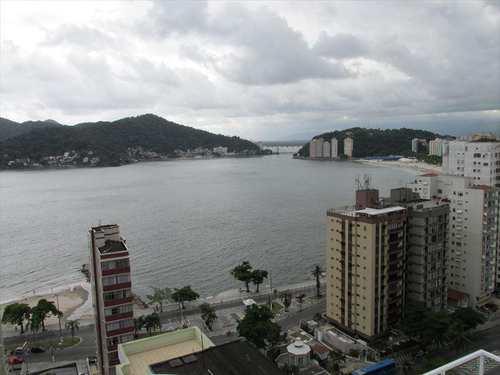 Apartamento, código 10683 em São Vicente, bairro Itararé