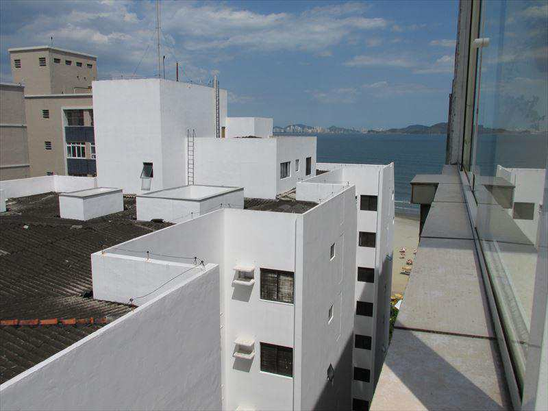 Cobertura em São Vicente, bairro Itararé