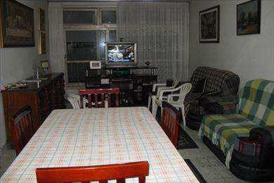 Apartamento, código 10505 em São Vicente, bairro Itararé