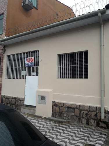 Casa, código 10166 em São Vicente, bairro Centro