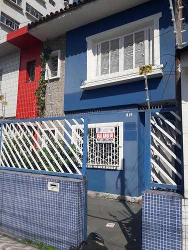Sobrado Comercial, código 10912 em São Vicente, bairro Centro