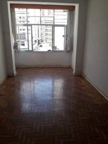 Apartamento, código 10915 em São Vicente, bairro Itararé