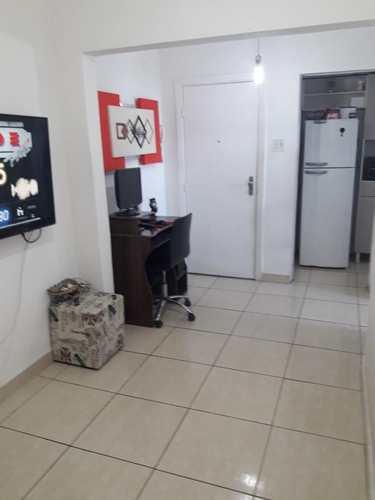 Apartamento, código 10942 em São Vicente, bairro Biquinha