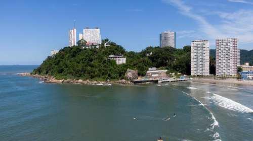 Área Comercial, código 10949 em São Vicente, bairro Ilha Porchat