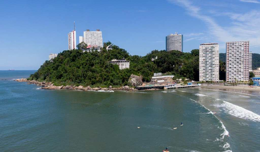 Área Comercial em São Vicente, bairro Ilha Porchat