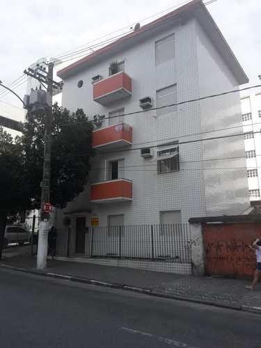 Apartamento, código 10963 em São Vicente, bairro Centro