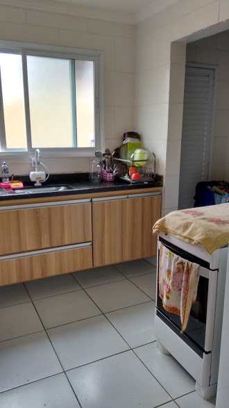 Casa de Condomínio em São Vicente, no bairro Vila Voturua